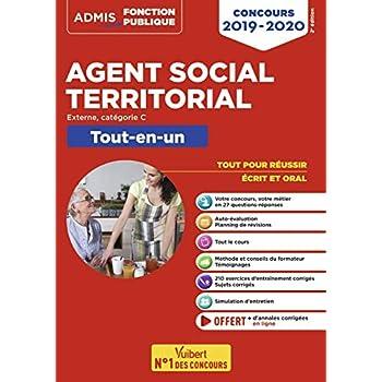 Concours Agent social territorial principal de 2e classe - Catégorie C - Tout-en-un - Concours externe
