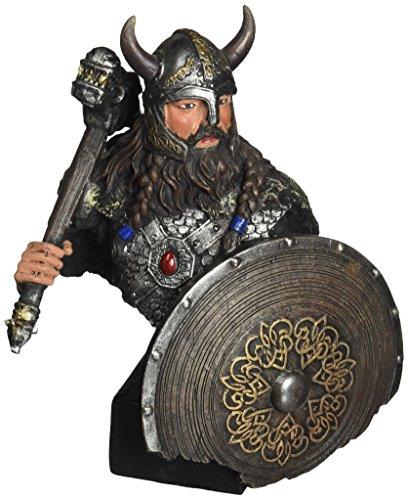Progettare Toscano CL5999 Viking Warrior con Thunder Hammer statua di Thor