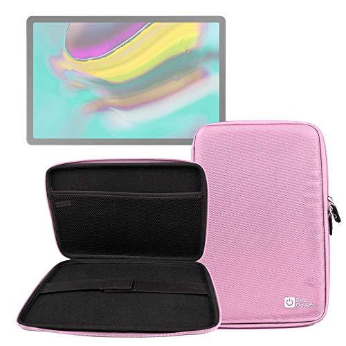 DURAGADGET Funda Rígida Rosa Tablet Samsung Galaxy