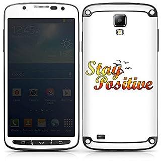 DeinDesign Samsung Galaxy S4 Active Folie Skin Sticker aus Vinyl-Folie Aufkleber Visca Barca Merchandising Pour Supporters Fanartikel Merchandise