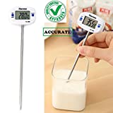 #2: CASON-50 °C to + 300 °C Digital Thermometer Probe for Kitchen Cooking Thermometre Temperature for Food Liquid Thermometer Meat Barbecue BBQ Laboratory Factory