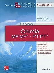 Chimie MP MP* - PT PT* 2e année