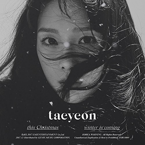 TAEYEON GIRLS GENERATION - This Christmas - Winter is Coming CD+Photobook+Folded Poster+Free - Girls Generation-karten