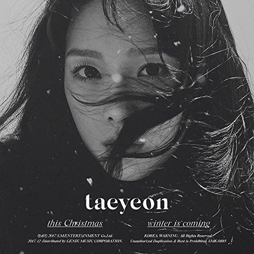 TAEYEON GIRLS GENERATION - This Christmas - Winter is Coming CD+Photobook+Folded Poster+Free - Generation-karten Girls