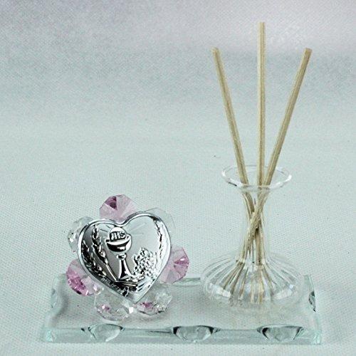 Dlm24783-rosa profumatore in vetro per comunione_rosa bomboniera