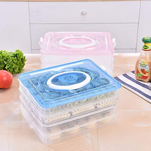 Mini Kitchen Geteilte Schachtel, Knödelschachtel, Gefrorene Schachtel, Sushi, großer Eiswürfel