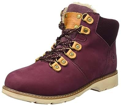 Dockers by Gerli Damen 39SI308-302720 Desert Boots, Rot (Dunkelrot), 42 EU