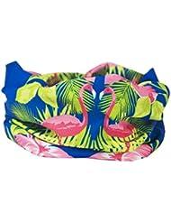 Azul Color Rosa Flamenco calentador de cuello–Ruffnek®–Bufanda multifuncional/Snood Talla única para mujer