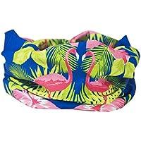 Blu Colore: Rosa fenicottero Scaldacollo–RUFFNEK® Sciarpa multifunzione/scaldacollo–Taglia unica per donne