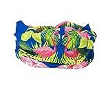 RUFFNEK Tropical Flamingo Tête/Bandeau/Cache-Cou Multifonctionnel Écharpe/Tour de Cou–Taille Unique pour Femmes et Enfants