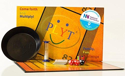 PLYT - Umkämpftes unterhaltsames Brettspiel für Familien – eine Herausforderung für Kinder und Erwachsene – verbessert nachweislich Mathekenntnisse