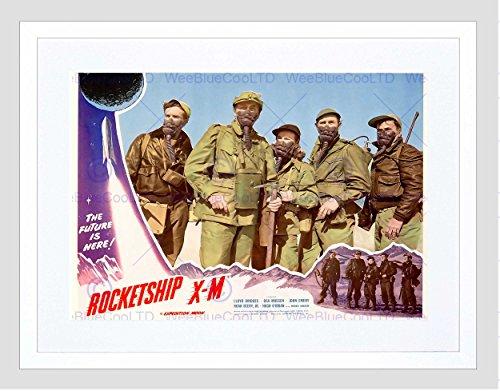 FILM ADVERTISEMENT 1950 MOVIE ROCKETSHIP XM SCI FI SOLDIER PRINT B12X10686 (1950 Filme)