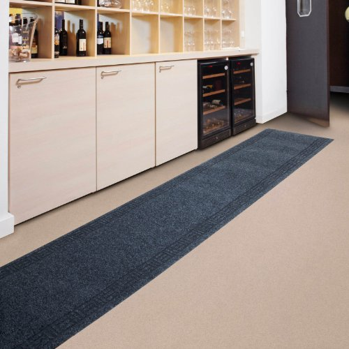 Kitchen Runner - 9 sizes available - Anthracite - 6x1500cm