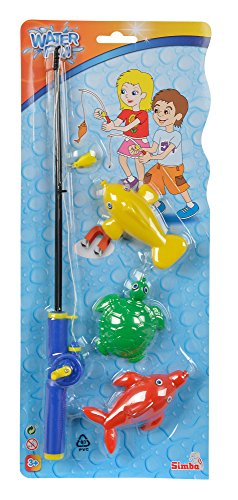 Simba World of Toys Magnetic Fishing Game Set, Multi Color