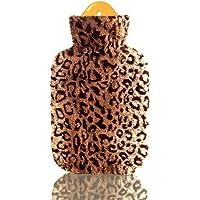 Wärmflasche mit Leopard-Bezug, mit 2 Liter Gummi-Wärmflasche preisvergleich bei billige-tabletten.eu