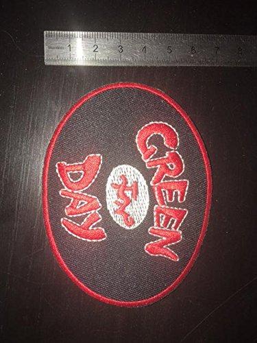 Preisvergleich Produktbild Ecusson-Patches Aufnaher ToppaGreen DayFestplatte rotzum Aufbgeln