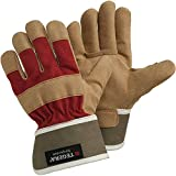 Ejendals Handschuh Tegera 90088 aus Synthetikleder, Größe 7, 1 Stück, braun / rot, 90088-7
