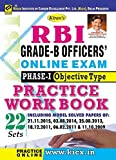 Kiran RBI Grade B Officers Online Exam Phase-I Objective Type Practice Work Book English - 2016 Latest