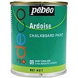 Pebeo - Pintura efecto pizarra (250 ml), color verde