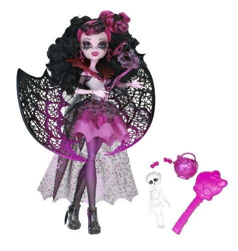 Monster High Ghouls Rule Halloween Draculaura Doll (High Draculaura Halloween Monster)