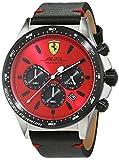 Scuderia Ferrari Homme Analogique Classique Quartz Montres bracelet avec bracelet en Cuir - 830387