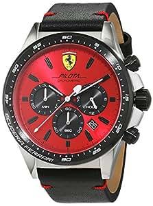 Scuderia Ferrari Orologi 0830387 Pilota Chronograph - Montre-bracelet pour homme