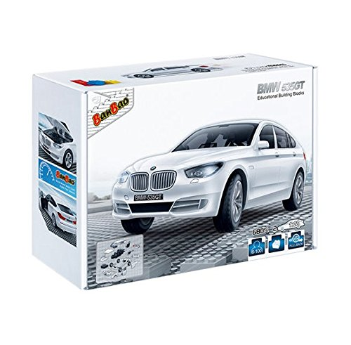 banbao-6805-2-bmw-535gt-white-construccion-98-piezas-1-28-miniatura-de-juguete-licensed-by-bmw