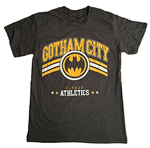 BATMAN - GOTHAM CITY ATHLETICS - OFFICIAL MENS T SHIRT