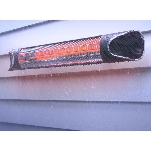Genius Sunshine Blade | Infrarot-Heizstrahler inkl. Wandmontagezubehör | Carbonfaser | 220-240 V | 1700 – 2150 W | LED-Display | NEU - 6