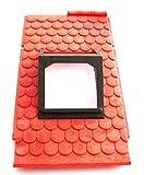 playmobil ® - Burg Ritterburg Fachwerkhaus - Dach Teil - mit Fenstereinsatz z.B. 3666 / 3669