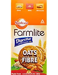 Sunfeast Farmlite Digestive Oats with Almonds Biscuits, 150g