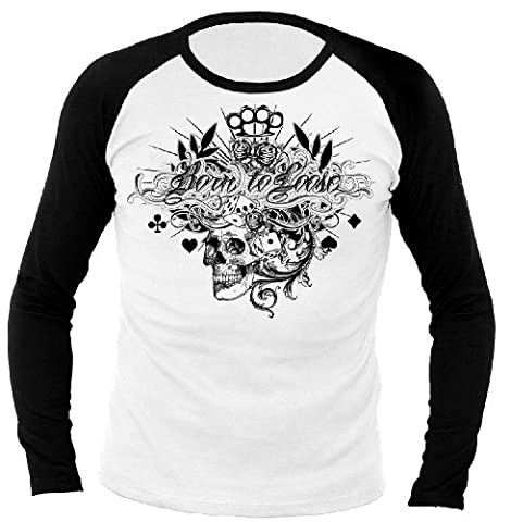 Rock Style Born to loose 701293 Longsleeve Raglan XL