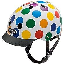 Nutcase Gen3, Casco de ciclismo multiuso unisex, Multicolor (Dots), S (52-56 cm)