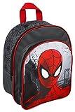 Undercover SPIW7601 - Rucksack mit Vortasche Spiderman, circa 30 x 23 x 9 cm