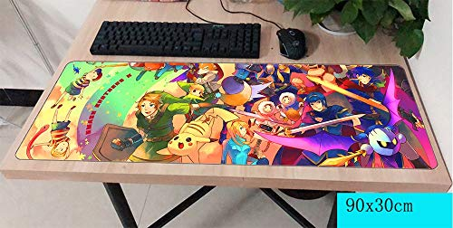 Große Größe Mauspad Pad Maus computador Gamer Mauspad 900x300X2MM Padmouse große Halloween Geschenk Mousepad ergonomische Gadget Büro Schreibtisch Matten