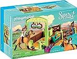 Playmobil DreamWorks Spirit 9478 Lucky e la Stalla di Spirit, dai 4 Anni