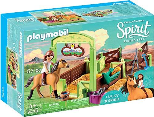 Spirit- Horse Box 'Lucky & Spirit' Lucky