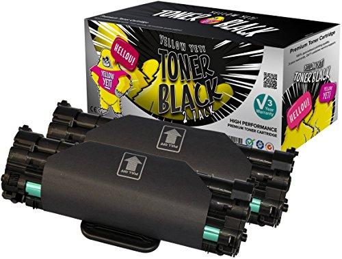 Yellow Yeti ML-1610D2 2 Premium Toner kompatibel für Samsung ML-1610 ML-1615 ML-1620 ML-1625 ML-1650 ML-2010 ML-2010P ML-2010R ML-2015 ML-2510 ML-2570 ML-2571 ML-2571N SCX-4321 SCX-4521 SCX-4521F Dell 1100 [3 Jahre Garantie] (Samsung 2510 Toner Patrone)