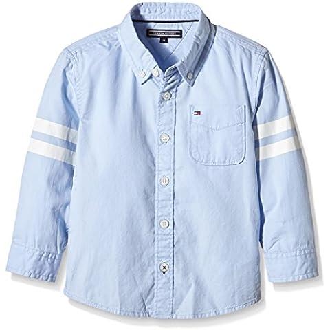 TOMMY HILFIGER KIDS Special Oxford Shirt L/s, Camisa Para Niños