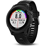 Garmin Forerunner 935Bluetooth Black Sport Watch–Sport Watches (Black, Polymer, Water Resistant, Silicone, Glass, 5ATM)