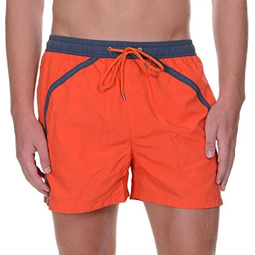 Bruno Banani Herren Badeshorts Boxer Cutback Orange (orange 15)