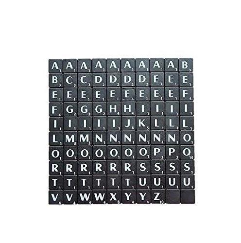 Scarabeo nero con bianco Lettere Art & craft gioco da