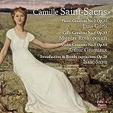Concerto pour violoncelle n° 1, pour piano n° 2 pour violon n° 1. intro.& rondo
