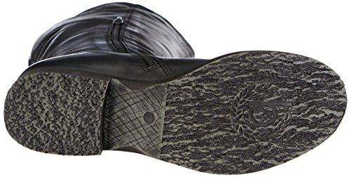 Bugatti V37311, Stivali a gamba alta Donna Nero (Schwarz (schwarz 100))