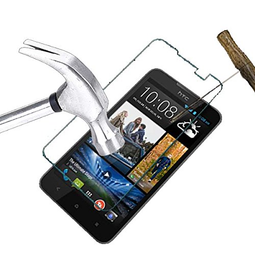 Acm Tempered Glass Screenguard For Htc Desire 516 Mobile Premium Screen Guard Anti-Scratch Proof Protector  available at amazon for Rs.179