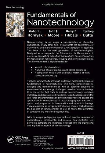Fundamentals of Nanotechnology