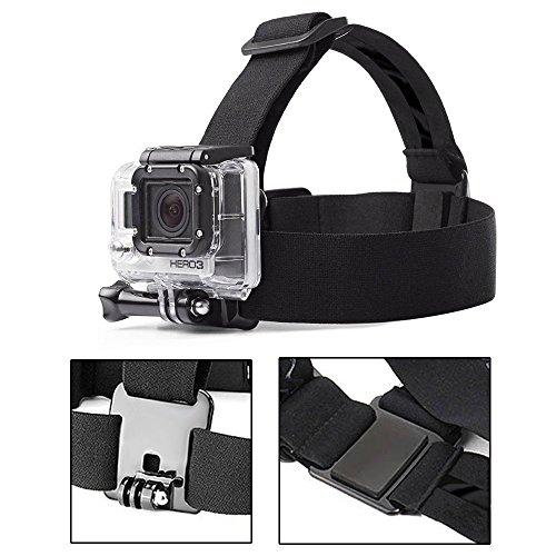 Gopro-Accessori-Greleaves-Cinghia-di-Testa-Montare-Imbracatura-del-Petto-Accessori-Bundle-Kit-per-GoPro-Hero-543321-e-Altre-Telecamere-Sportive