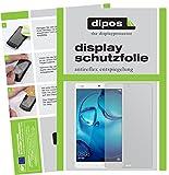 dipos I 2X Schutzfolie matt passend für Huawei MediaPad M3 Lite 10 Folie Displayschutzfolie
