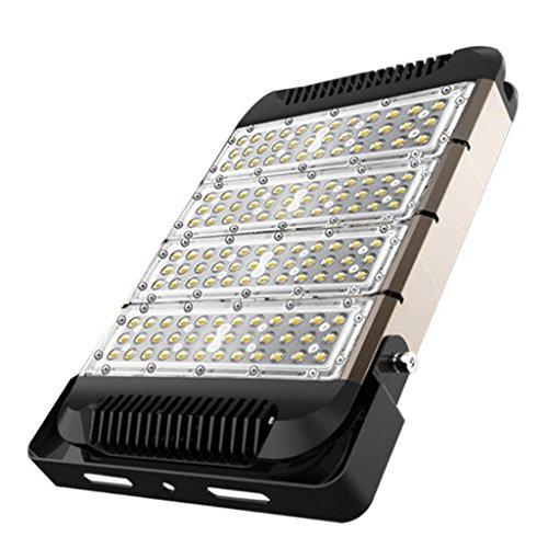 Aoligei LED Scheinwerfer im Freien Aufbau Garten Anschlagtafel Scheinwerfer imprägniern Flutlicht 43*29*5cm 200W weißes Licht