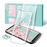 Zcen Galaxy S8 Panzerglas Schutzfolie, [2 Stück] 3D Touch Kompatibel Full Coverage Samsung S8 Abdeckung Gehärtetem Gla